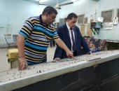 جانب من جولة المهندس أشرف رسلان رئيس هيئة السكة الحديد