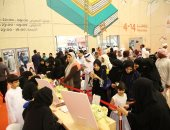 ركن التوقيع خلال معرض الشارقة الدولي للكتاب ــ أرشيفية