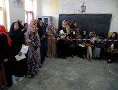الأفغان يصوتون بالانتخابات التشريعية