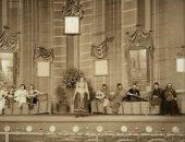 مسرح عام فى شوارع القاهرة عام 1908