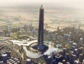 برج فى العالم بالعاصمة الإدارية