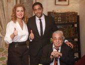 فاروق فلوكس وابنه أحمد وهنا شيحة