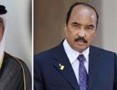 تميم والرئيس الموريتانى