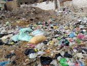 انتشار  القمامة فى شوارع  قرية الحجازيه بالشرقية