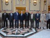 الدكتور محمد العصار يلتقى سفير البرازيل بالقاهرة