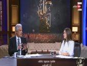 الإعلامية خلود زهران والإعلامى وائل الإبراشى