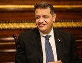 النائب طارق رضوان رئيس لجنة الشؤون الأفريقية بمجلس النواب
