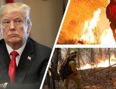 ترامب وحرائق كاليفورنيا