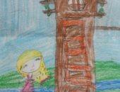 رسم الطفلة