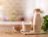 فوائد حليب فول الصويا-ارشيفية