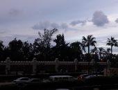 الغيوم تملئ سماء الإسكندرية
