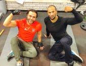كرم جابر و محمد إمام