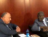 وزير الخارجية سامح شكرى يلتقى وزير خارجية النيجر