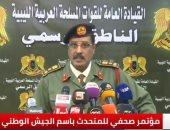 المتحدث باسم الجيش الليبى العميد أحمد المسمارى