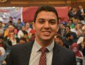 أحمد إيهاب رئيس اتحاد طلاب جامعة القاهرة