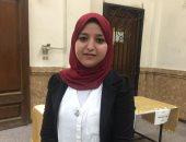 هند عبد الغفار نائب رئيس اتحاد طلاب جامعة القاهرة
