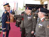 تخرج دفعة جديدة من الضباط المتخصصين بالكلية الحربية (2)