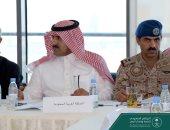 السفير السعودى باليمن فى جانب من الاجتماع