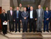 وفد من جامعة طنطا