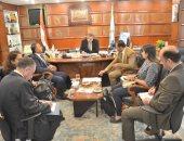جانب من لقاء وزير القوى العاملة برئيس اتحاد العمال المصريين بإيطاليا