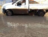 مياه الأمطار تحاصر قرى البحيرة