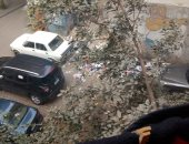 القمامة بميدان سعد الدين العراقي
