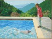 لوحة حمام السباحة لديفيد هاكنى