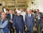 """مشاركة """"شاروبيم"""" و """"جمعة"""" فى افتتاح مسجد"""