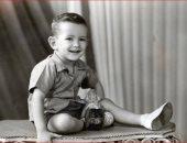 نجيب ساويرس طفل صغير
