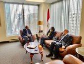 سفير مصر فى كندا يلتقى أساتذة قسم الدراسات العربية