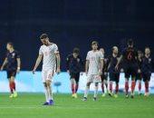 منتخب اسبانيا خسر أمام كرواتيا