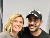 هنا شيحة وزوجها أحمد فلوكس