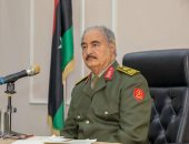 المشير خليفة حفتر القائد العام للقوات المسلحة الليبية