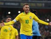 احتفال نيمار بهدفه رقم 60 مع البرازيل