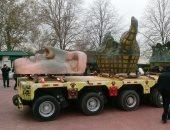 نقل شعلة تمثال الحرية