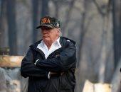 ترامب يتفقد حرائق غابات كاليفورنيا