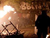 اشتباكات عنيفة فى اليونان