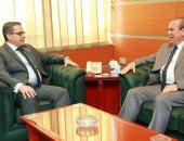 محافظ كفر الشيخ ورئيس فرع هيئة الرقابة الإدارية