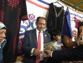 جانب من مشاركة رئيس الجامعة بالمعرض