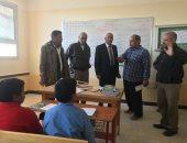الخدمات التعليمية تصل كل شبر بوسط سيناء