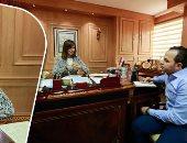 """وزيرة الدولة للهجرة وشئون المصريين بالخارج فى حوارها لـ""""اليوم السابع"""""""