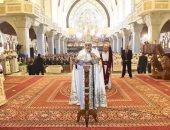 البابا تواضروس الثانى يترأس قداس تدشين الكاتدرائية