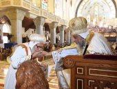 البابا تواضروس الثانى بابا الإسكندرية أثناء حفل التدشين
