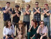 المدونيون الأمريكان خلال رحلتهم إلى القاهرة
