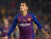 كوتينيو نجم خط وسط فريق برشلونة