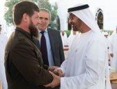 محمد بن زايد ورئيس الشيشان