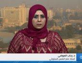الدكتورة رحاب العوضى أستاذ علم النفس السلوكى