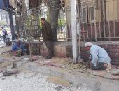 توسعة وتطوير شارع الفالوجا بالعجوزة