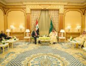 الملك سلمان والرئيس العراقى برهم صالح