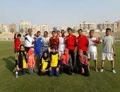 جانب من الطلاب الفائزين